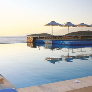 Pool With A View St Nicolas Bay Resort Hotel & Villas Greece Holidays