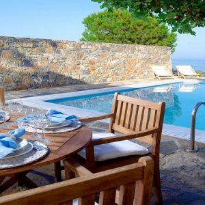 Poseidon House Club Suite 2 Bedroom Private Pool Seafront10 St Nicolas Bay Resort Hotel & Villas Greece Holidays