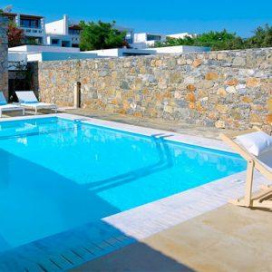 Poseidon House Club Suite 2 Bedroom Private Pool Seafront8 St Nicolas Bay Resort Hotel & Villas Greece Holidays