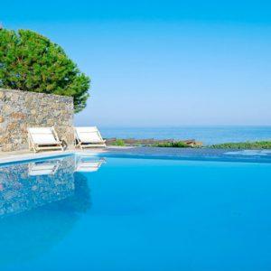 Poseidon House Club Suite 2 Bedroom Private Pool Seafront9 St Nicolas Bay Resort Hotel & Villas Greece Holidays