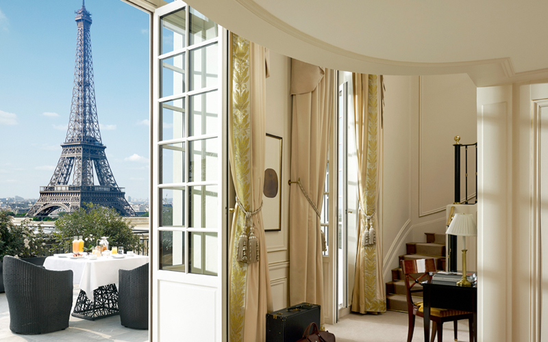 Shangri La Paris Eiffel Tower Suite The Best Balcony Views Around The World