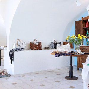 Shopping Boutique St Nicolas Bay Resort Hotel & Villas Greece Holidays