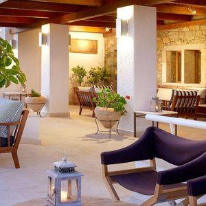 The Astra Bar, Veranda And Lounge2 St Nicolas Bay Resort Hotel & Villas Greece Holidays