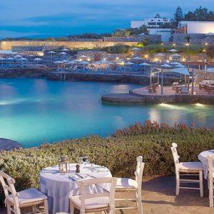 The Greek Kafenion St Nicolas Bay Resort Hotel & Villas Greece Holidays