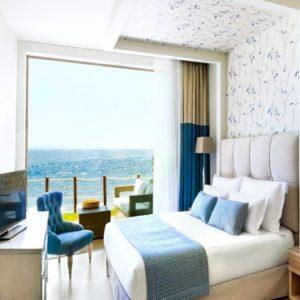 Two Bedroom Bungalow Suite Beachfront Ikos Olivia Resort Greece Holidays