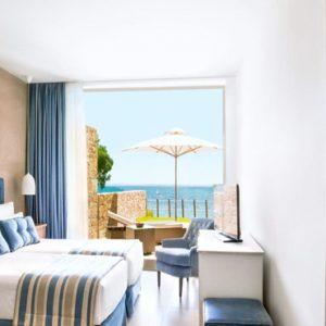 Two Bedroom Bungalow Suite Beachfront1 Ikos Olivia Resort Greece Holidays