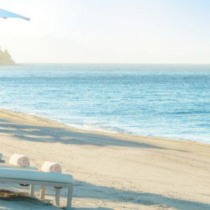 Beach Ikos Olivia Resort Greece Holidays