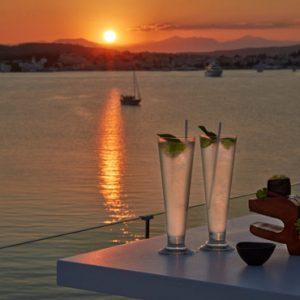 Cocktails At Sunset Nikki Beach Resort Porto Heli Greece Holidays