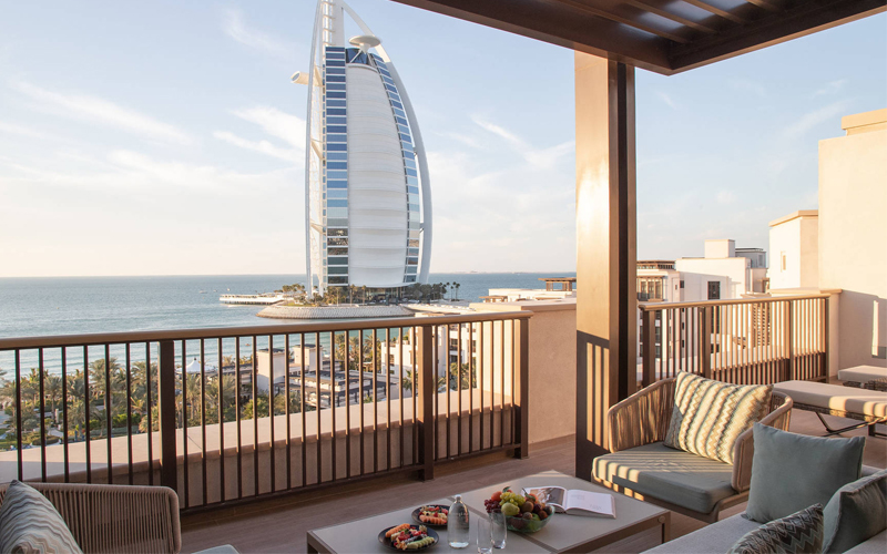 Jumeirah Al Naseem Burj Al Arab Views The Best Balcony Views Around The World