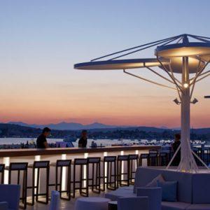 Rooftop Bar Nikki Beach Resort Porto Heli Greece Holidays