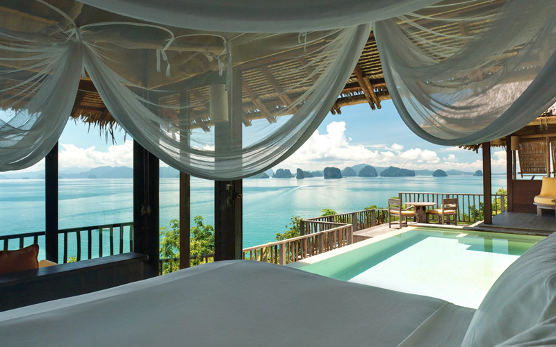 Six Senses Yao Noi Thailand The Best Balcony Views Around The World