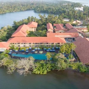 Aerial View1 Anantara Kalutara Sri Lanka Holidays