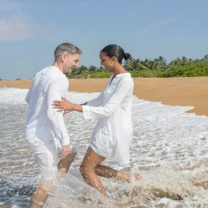 Couple At Beach Anantara Kalutara Sri Lanka Holidays