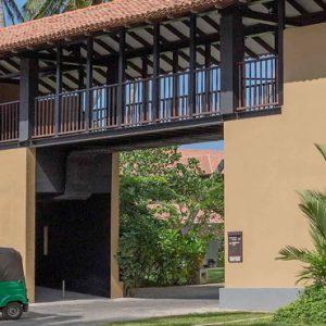 Hotel Entrance Anantara Kalutara Sri Lanka Holidays