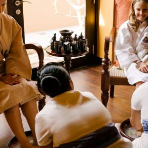 Spa Pedicure Family Anantara Kalutara Sri Lanka Holidays