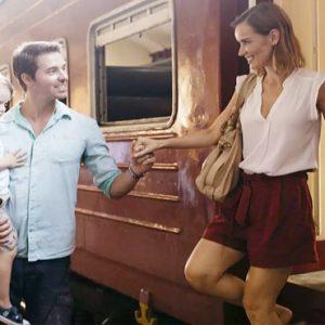 Train Arrival Anantara Kalutara Sri Lanka Holidays