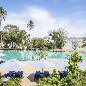 Pool With Lagoon View Anantara Kalutara Sri Lanka Holidays