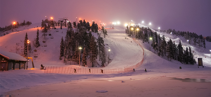 Ruka Finland Ski Slopes Ski Holiday Packages