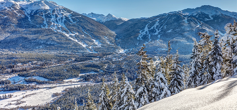 Whistler Canada Ski Slopes Ski Holiday Packages