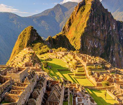 a picture of Machu Picchu