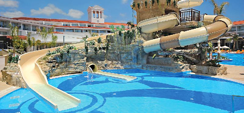 Olympic Lagoon Resort Paphos Water Slides Luxury Family Holidays