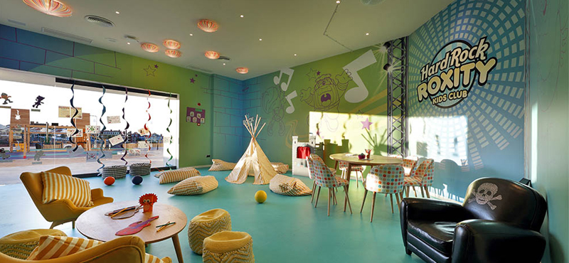 Hard Rock Hotel Tenerife Kids Club Luxury Family Holidays