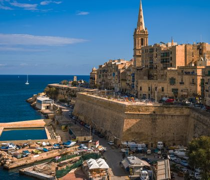a picture of Malta and Gozo