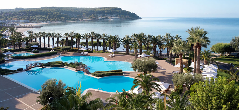 Sani Beach Club Pool Luxury Family Holidays